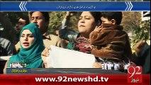 BreakingNews Qaim Ali Shah Nay Tashadud Ki Zemadari PIA Mulazimin Per Daal Di -3-01-16 -92NewsHD