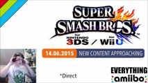 Smash Bros 4 Wii U NINTENDO DIRECT 14th June - Ryu Announcement? Mewtwo + Lucas Amiibo?