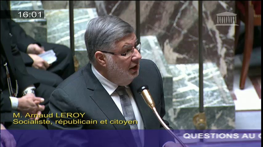 Économie bleue : A. Vidalies répond à une question au Gouvernement