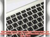 MiNGFi ?rabe Arabic Cubierta del teclado / Keyboard Cover para MacBook Pro 13 15 17