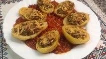 طبق البطاطس بالكفتة والبصل الشهية بطريقة سهلة ومبسطة شهيوات رمضان من المطبخ المغربي مع ربيعة