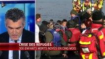 """300 enfants morts en Méditerranée depuis septembre : """"Une réalité horrible et quotidienne"""""""