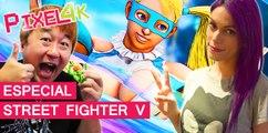 El Píxel 4K: Especial Street Fighter V, Yoshinori Ono en Madrid