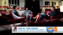 Christina Aguilera & Coaches - Today Show Interview: The Voice Season 10 (3/Feb/16)
