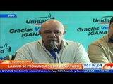 """""""Son 112 diputados con actas en mano, no hay improvisaciones"""": Torrealba sobre Parlamentarias"""