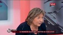 Natacha Bouchart, maire de Calais, vice-présidente du Conseil régional... et assistante parlementaire au Sénat