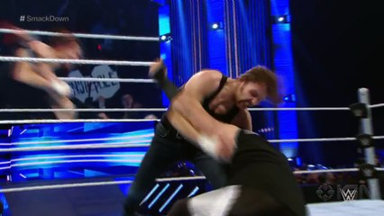 WWE Smackdown: Dean Ambrose vs. Sheamus and Kevin Owens