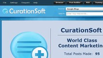 CurationSoft.com - Search Settings and Options
