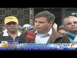 Miguel Pizarro denunció en Fiscalía ataque armado durante campaña en Petare