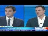 Mariano Rajoy no asistió al histórico debate entre candidatos para Parlamentarias en España