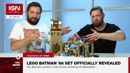 LEGO Batman 66 Set Officially Revealed - IGN News