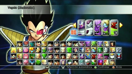 Dragon Ball Raging Blast 2 : Vegeta Y Tarble VS Freezer Cooler y Comando VENGANDO EL PLANETA VEGETA