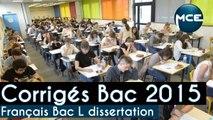 Bac 2015: corrigés vidéo Dissertation Français Bac L « Pensez-vous que la poésie soit une invitation au voyage ? »