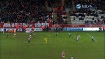 1-1 Hamari Traoré Goal France  Ligue 1 - 03.01.2016, Stade Reims 1-1 Angers SCO