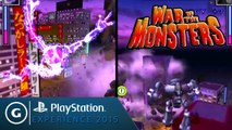 War of the Monsters - Official PS2 to PS4 Split-screen Gameplay - PSX 2015