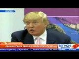 Obama rechaza política de deportación forzada de inmigrantes indocumentados propuesta por Trump