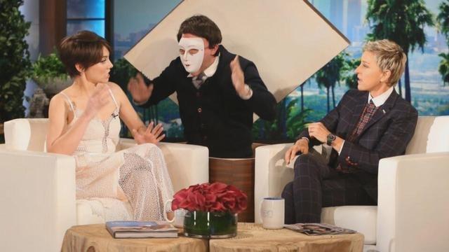 Even 'The Walking Dead' Star Lauren Cohan Gets Scared -- By Ellen DeGeneres!