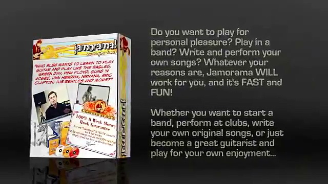 Jamorama – guitar chords