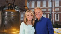 Pat Sajak and Vanna White's Sweet Surprise for Terminally Ill 'Wheel of Fortune' Fan