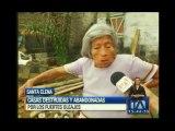 Fuertes oleajes destruyen playas en Manabí y Santa Elena