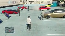 Grand Theft Auto V Online (PS3) Street Car Bike Meet Hakuchou Build, Drag Racing and More