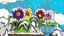 Schneeflöckchen, Weißröckchen Copito de nieve Zweispr. Kinderlied Dt. Span. Yleekids
