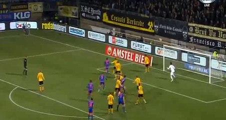 Гол Эрик Боттегин · Рода (Керкраде) - Фейеноорд (Роттердам) - 0:1