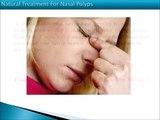 Nasal Polyps Natural Treatment |  Nasal Polyps Treatment Miracle