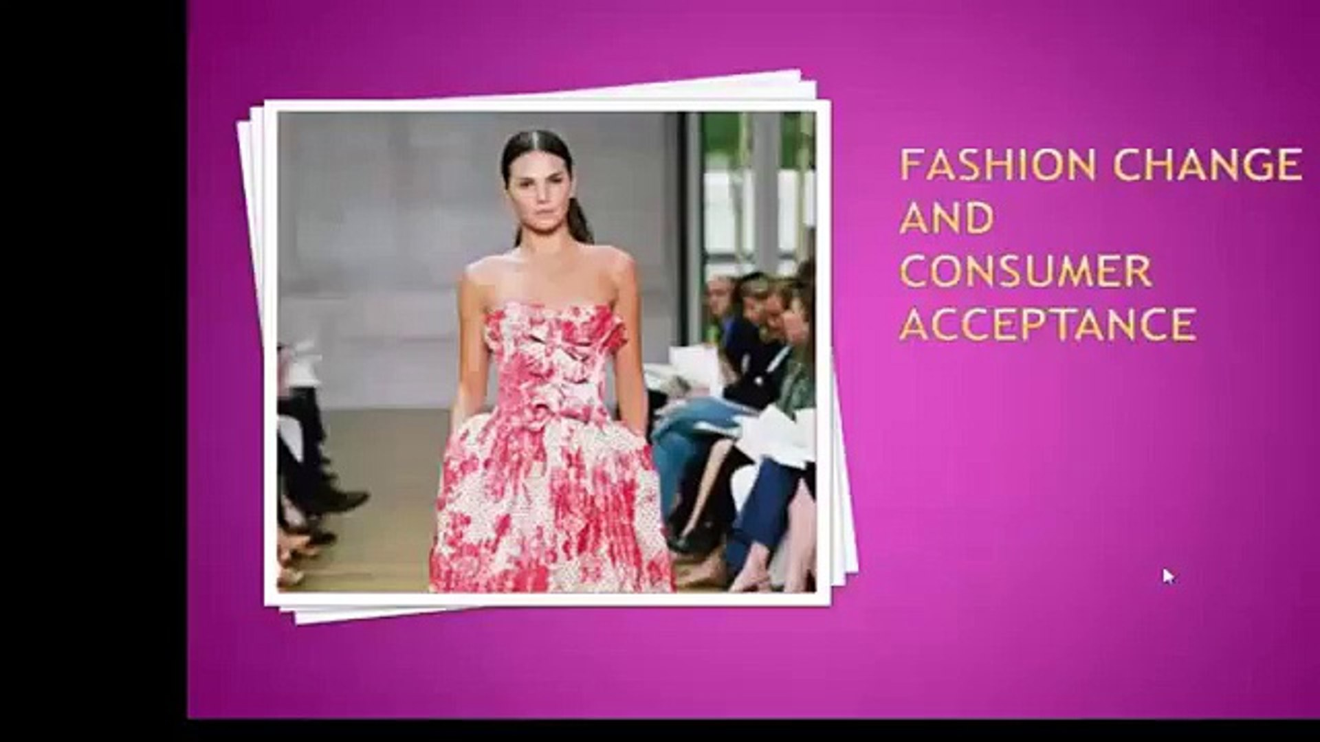 fashion changeand