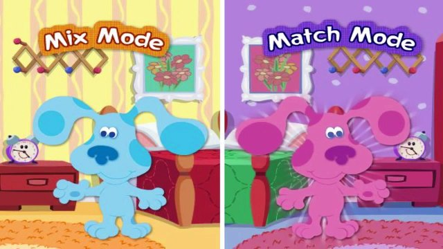 Blues Clues - Mix N Match Dressup - Blues Clues Games