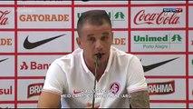 D'Alessandro, emocionado: las lágrimas en su despedida de Inter de Porto Alegre