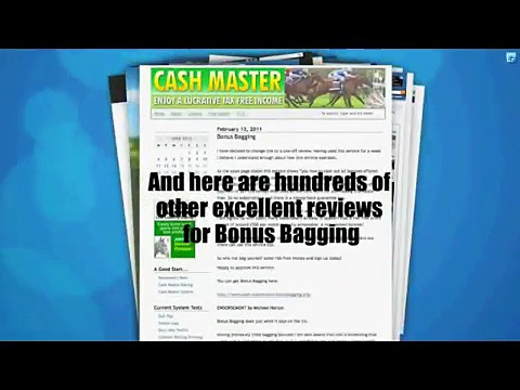 Bonus Bagging Bag Those Bonuses! / 2015