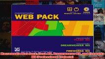 Download PDF  Macromedia Web Pack Flash MX Dreamweaver MX and Fireworks MX Professional Projects FULL FREE