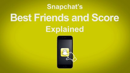 Snapchat's Best Friend and Score Explained