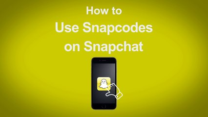 How to Use Snapcodes on Snapchat