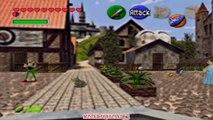 The Legend of Zelda Ocarina of Time - Gameplay Walkthrough - Part 16 - Heart Collector [N64]