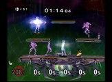Smash Bros. Melee - Pichu Multi Man Melee - 3 Minute Melee - Endurace Challenge