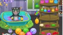 Talking Tom episode - Funny Baby Talking Tom and Ginger Bath - Talking Tom & Friends