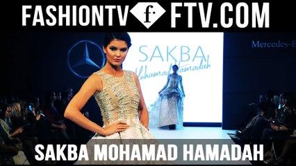 Sakba Mohamad Hamadah MBFW Doha 2015 | FTV.com