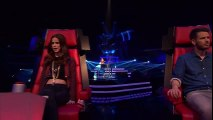 Girl forced to Cry!!! Amazing and soulful voice! The Voice Kids 2014 Germany!!! Blind Audition