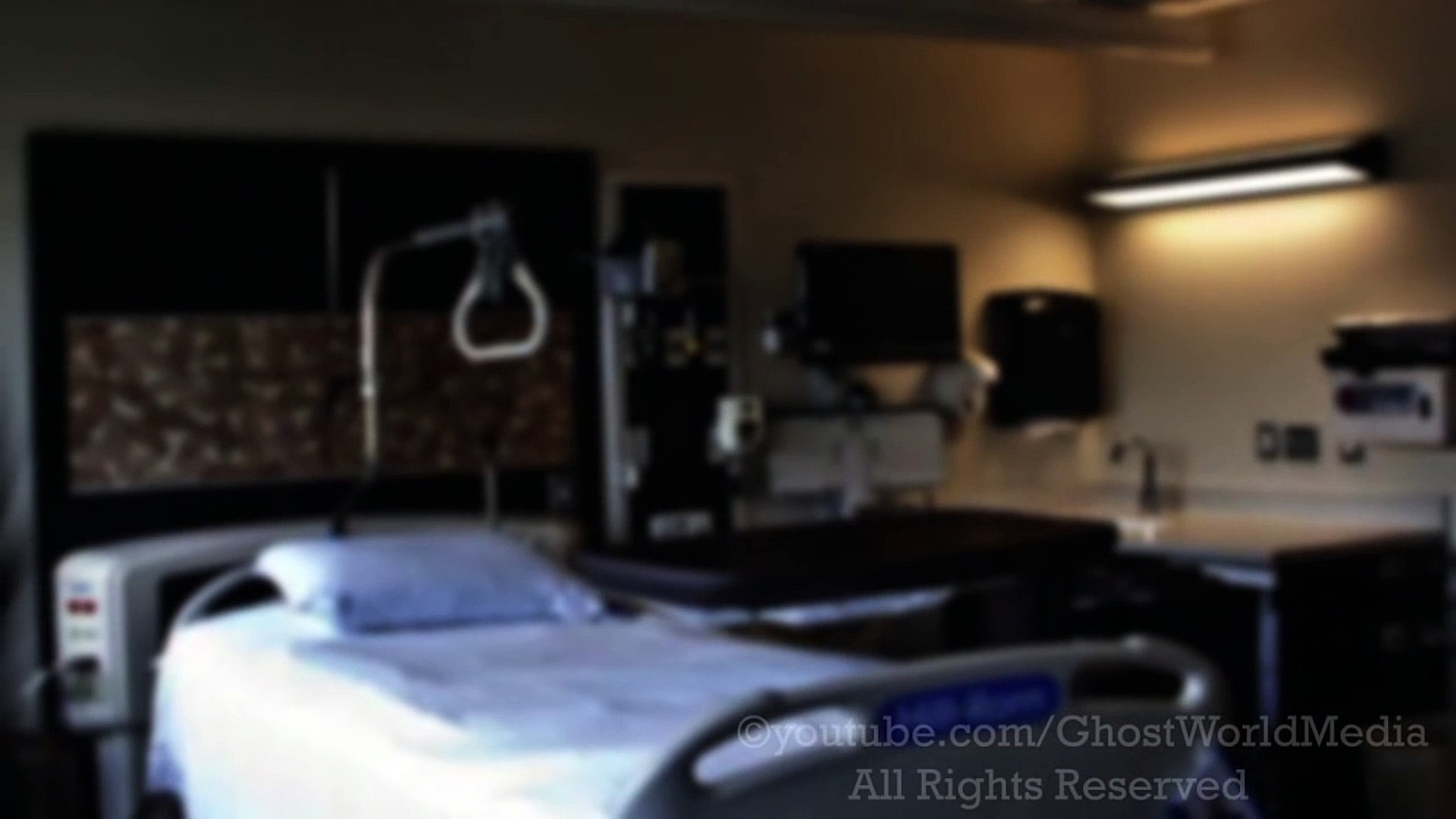 SCARY GHOST VIDEOS Real ghost caught on tape in the hospital Scary videos of ghost caught on tape