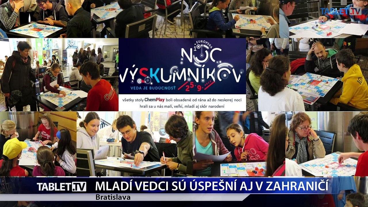 Na Slovensku vyrastajú mladé vedecké kapacity