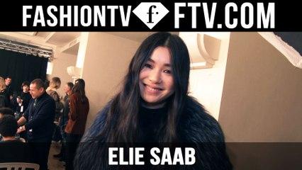Elie Saab Hair & Makeup | Paris Haute Couture S/S16 | FTV.com