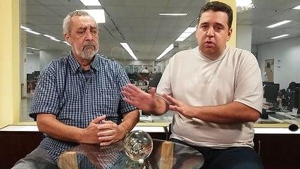 Son Salvador e Daniel Seabra falam sobre a chance de venda de Lucas Pratto, a vitória do Cruzeiro e Guarani x América