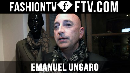 Emanuel Ungaro F/W 16-17 trends | Paris Fashion Week : Men F/W 16-17 | FTV.com