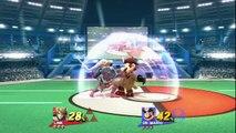 UnknownJoe(Link) vs DV(Dr. Mario) in -By THAT Much: Super Smash Bros Wii U