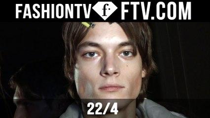 22/4 F/W 16-17 Hair & Makeup | Paris Fashion Week : Men F/W 16-17 | FTV.com