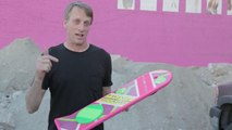 Retour vers le futur 2 : Tony Hawk teste le 1er Hoverboard