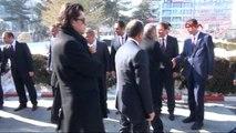 Van İçişleri Bakanı Efkan Ala ve Ulaştırma, Denizcilik ve Haberleşme Bakanı Binali Yıldırım Van'da...