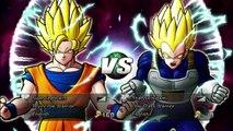 Dragon Ball Raging Blast 2 - Dragon Ball: Raging Blast 2 SSJ2 Vegita V.S. SSJ2 Goku - TheDonovan137